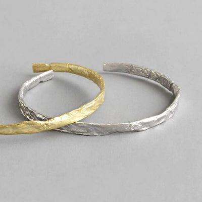Crush Bangle (Silver) - Chuchka Jewelry
