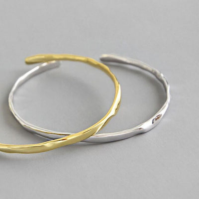 Smooth Bangle (Silver) - Chuchka Jewelry