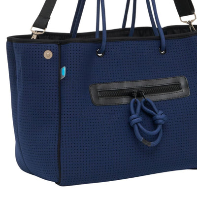 Coco Neoprene Nappy Bag (Navy) - CHUCHKA