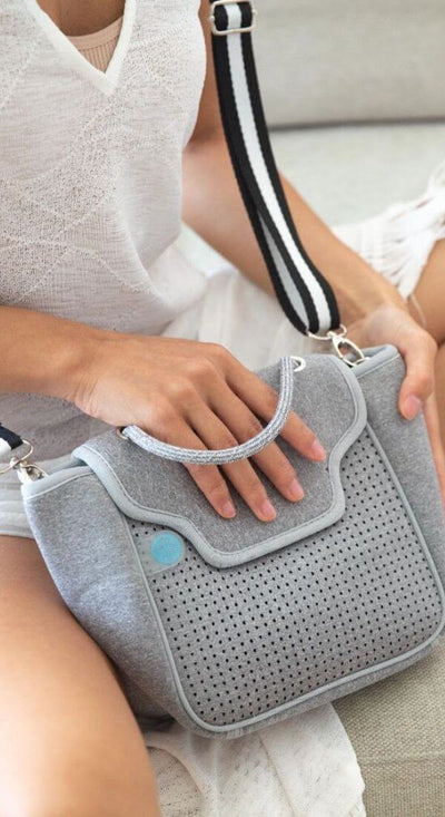 Billi Neoprene Crossbody Bag (Grey) $89 USD for festival outings and everyday CHUCHKA