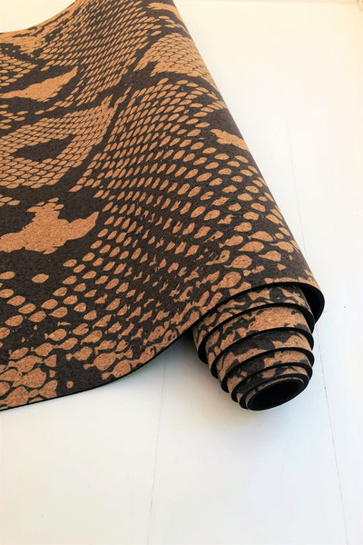 Cobra Cork Yoga Mat (Eco Friendly / Toxic Free)