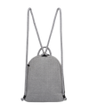 Kimi chuchka neoprene backpack in grey - back