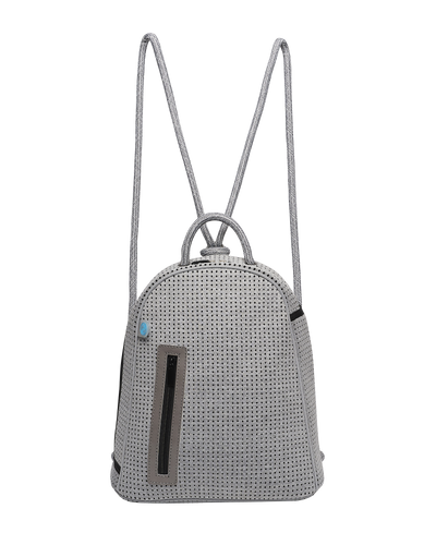 Kimi chuchka neoprene backpack in grey - front