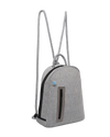 Kimi chuchka neoprene backpack in grey - side