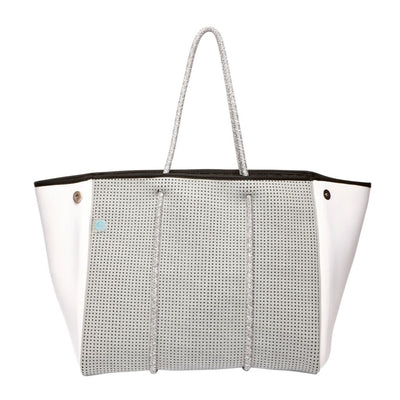 Harley Neoprene Tote Bag (Grey/White) - Chuchka
