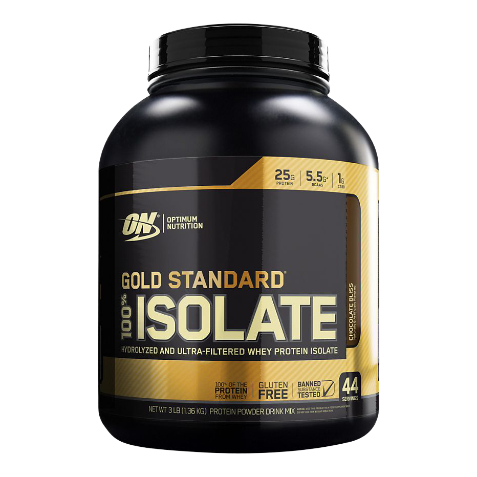 ON 100% GOLD STANDARD ISOLATE 3LB CHOCOLATE BLISS