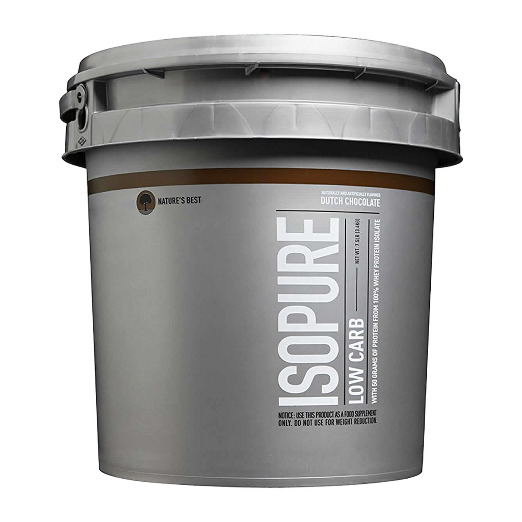NB ISOPURE LOW CARB 7.5LB DUTCH CHOCOLATE