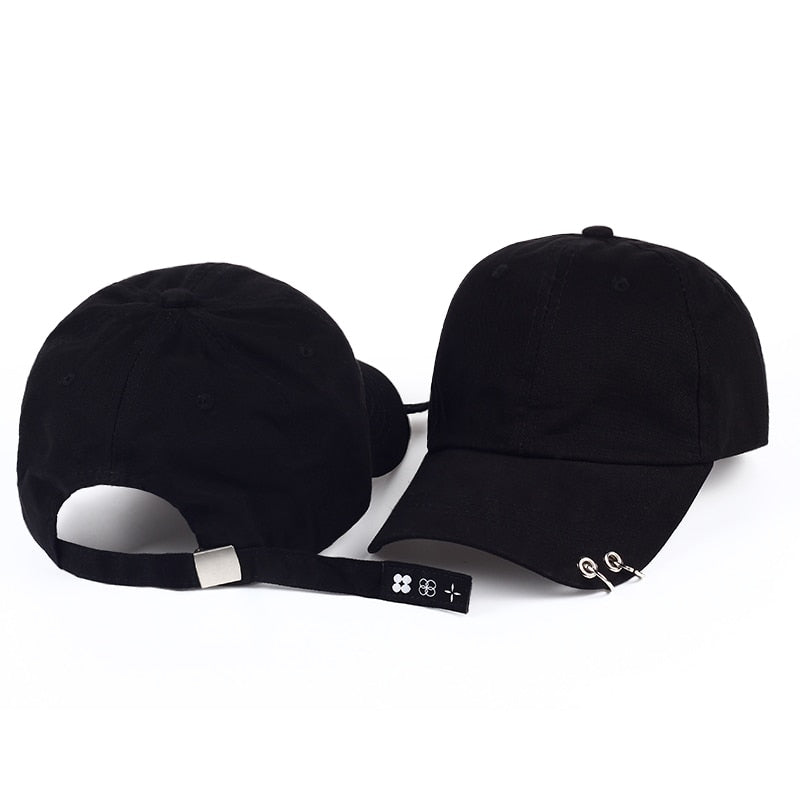 VORON 2017 new baseball cap with rings bts jimin hat bts suga cap BTS LIVE THE WINGS TOUR kpop bts cap Iron Ring snapback Hats