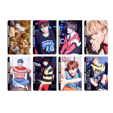 Youpop KPOP BTS Bangtan Boys ARMY LOVE YOURSELF Album LOMO Cards K-POP New Fashion Self Made Paper Photo Card HD Photocard LK512