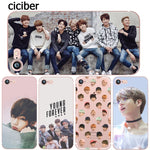 BTS Korea Bangtan Boys Young Forever JUNG KOOK V Spring Day Phone Case for iphone 6 6S 7 8 PLUS 5S 5 SE X 10 Silicone Clear Soft