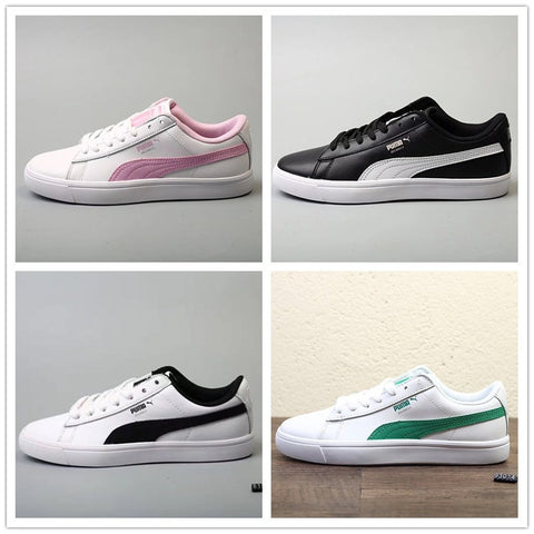 Original BTS x Puma Collaboration Puma Court Star Korea woman's Cadet shoes men's Sneakers (20130613) Badminton Shoes Size36-44