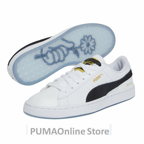 PUMA X BTS Basket Patent Shoes Bangtanboys Collaborat Classic Sneaker Unisex /Men's /Women's Sneaker Shoes Size35.5-44