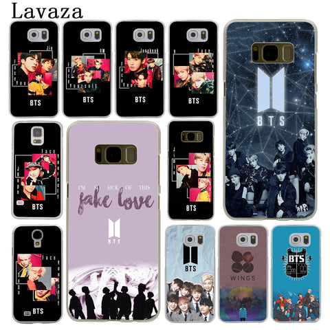 Lavaza Bangtan Boys Face Yourself Fake Love BTS Hard Phone Case for Samsung Galaxy S8 S9 Plus S3 S4 S5 S6 S7 Edge Cover