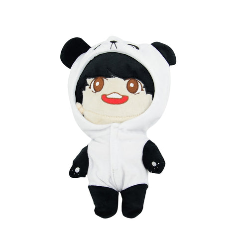"PCMOS 20cm/8"" KPOP BTS Plush Dolls Toy Jeon Jung Kook Plush Toy Soft PP Cotton Stuffed Doll Fan made Gift Collection Soft Cotton"