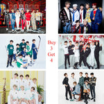 BTS 2018 NEW Posters Kpop Wall Sticker High Definition Glossy Paper Wall Decoration Livingroom Bedroom Home Art Brand