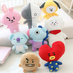 Mixed Bt21 Stufffed Animal