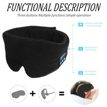Load image into Gallery viewer, Bluetooth Sleep Mask - Music Headset