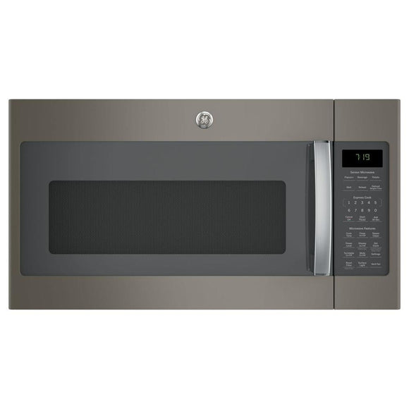 GE 1.9 cu. ft. Over the Range Microwave with Sensor Cooking in Slate, Fingerprint Resistant