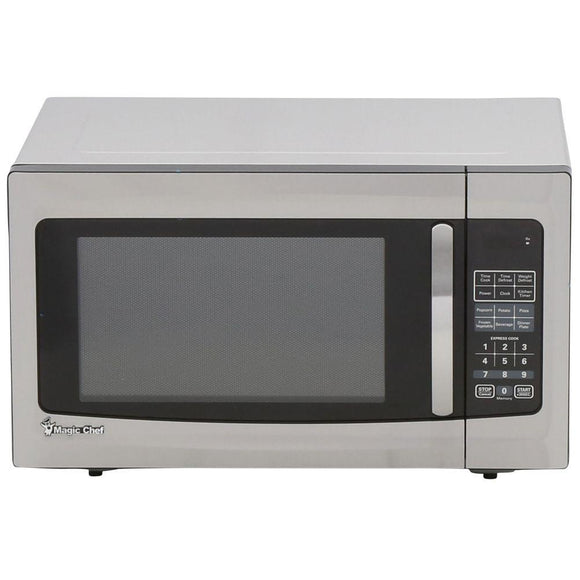 Magic Chef 1.6 cu. ft. Countertop Microwave in Stainless Steel