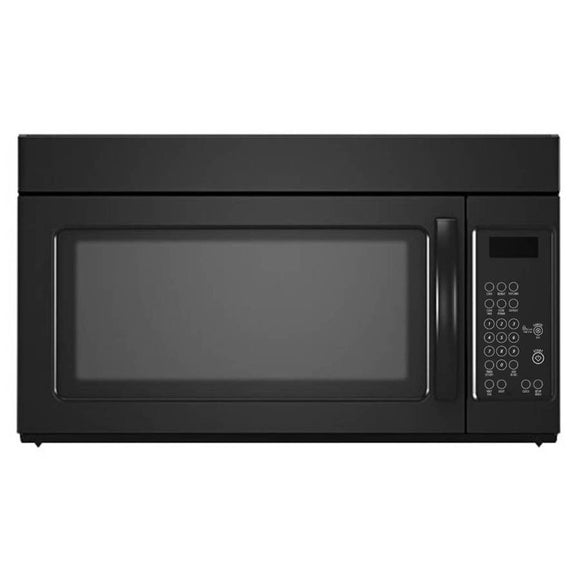 Whirlpool 1.6-cu ft Over-the-Range Microwave (Black)