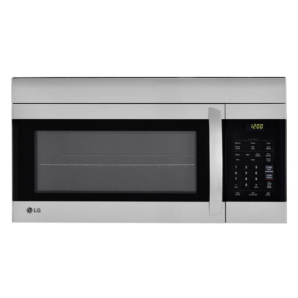LG Electronics 1.7 cu. ft. Over the Range Microwave Oven in Stainless Steel with EasyClean Interior