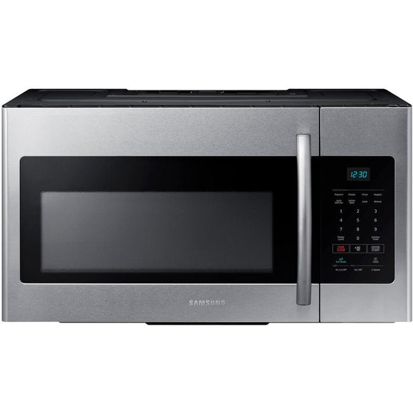 Samsung 30 in W 1.6 cu. ft. Over the Range Microwave in Fingerprint Resistant Stainless Steel