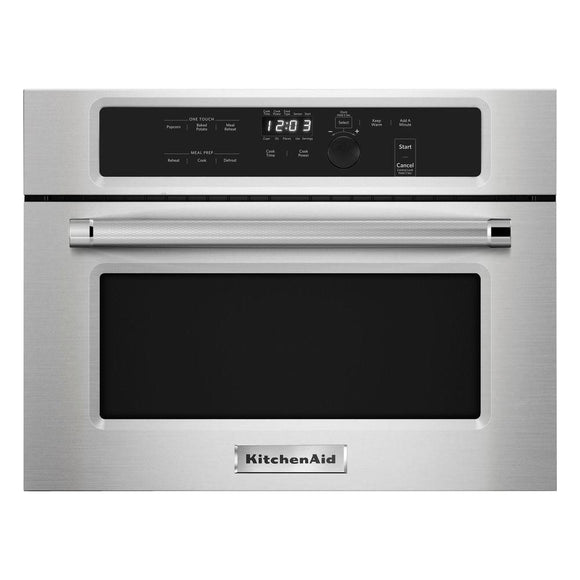 KitchenAid 1.4 cu. ft. Built-In Microwave in Stainless Steel