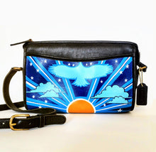 Load image into Gallery viewer, COACH Vintage Hand-Painted Retro Americana Crossbody Purse