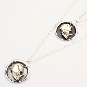 Wax Seal Skull Pendant