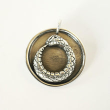 Load image into Gallery viewer, Ouroboros I Medallion Pendant