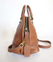 Load image into Gallery viewer, Unisex Vintage COACH Baxter Bag British Tan Leather Work Satchel / Doctor Bag *RARE*