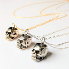 Load image into Gallery viewer, Anatomical Skull Pendant