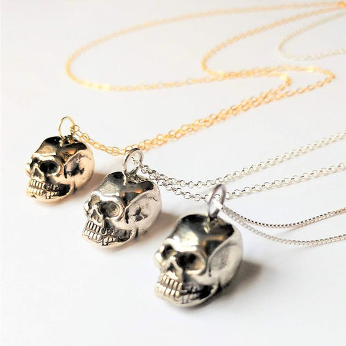 Anatomical Skull Pendant