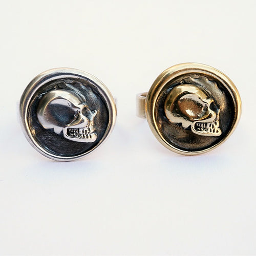 Wax Seal Skull Ring