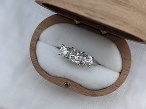 The Princess Trilogy Engagement ring