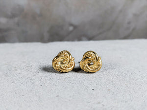 The Nodo Knot Earrings | Gold Plated