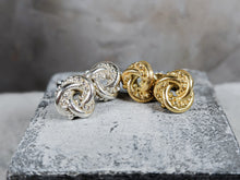 Load image into Gallery viewer, The Nodo Knot Earrings | Gold Plated