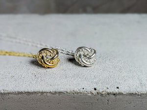 Nodo Knot Pendant | 18K Gold Plate - Milly Maunder Designs