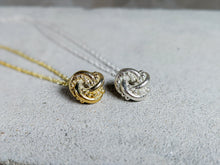 Load image into Gallery viewer, Nodo Knot Pendant | Sterling Silver