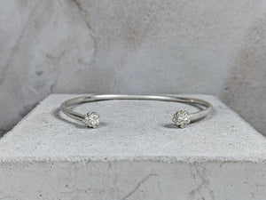 Duo Cuff | Sterling Sliver