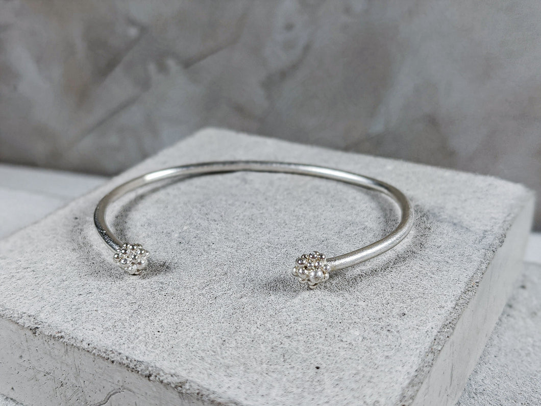 Duo Cuff | Sterling Sliver - Milly Maunder Designs