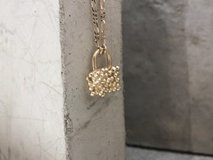 The Padlock | 9k Yellow Gold