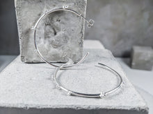 Load image into Gallery viewer, Large Bubble Hoop | Sterling Silver