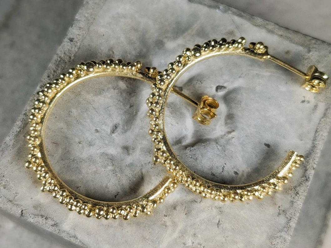 Budo Hoops | Gold