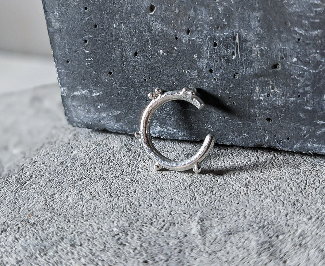 Bubble Cuff | STERLING SILVER