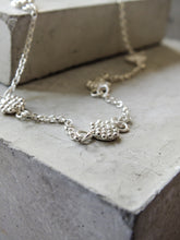 Load image into Gallery viewer, Mini Bubble Disc Necklace | Sterling Silver