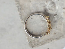 Load image into Gallery viewer, Bubble ring | 18K Gold and Silver
