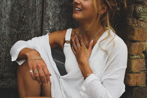 Halo Ring | Sterling Silver
