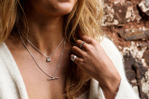 The Padlock | Sterling Silver - Milly Maunder Designs