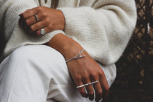 Load image into Gallery viewer, T Bar bracelet | Sterling Silver